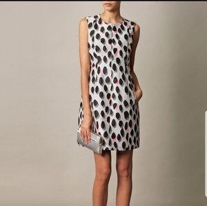 DVF New Summer Mini animal polkadot dress